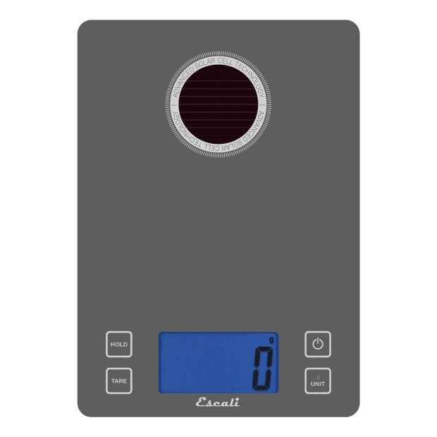 Escali Stela Solar USB Charging Kitchen Scale #1