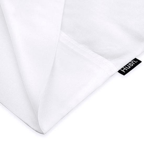 Hush® Iced Cooling Sheet and Pillowcase Set - White - King #1