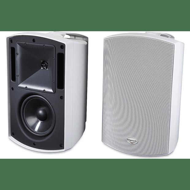 Klipsch® AW-650W Outdoor Speaker - White - Set of 2 #1