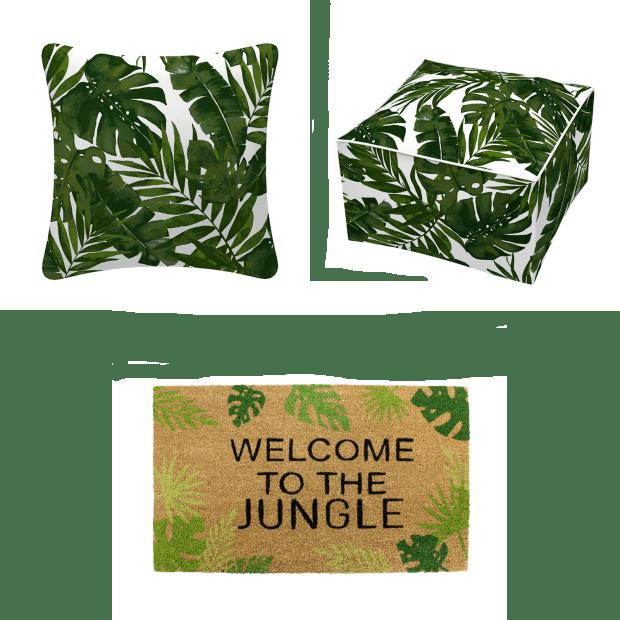 Koppers Home 3-Piece Tropical Outdoor Décor Set #1