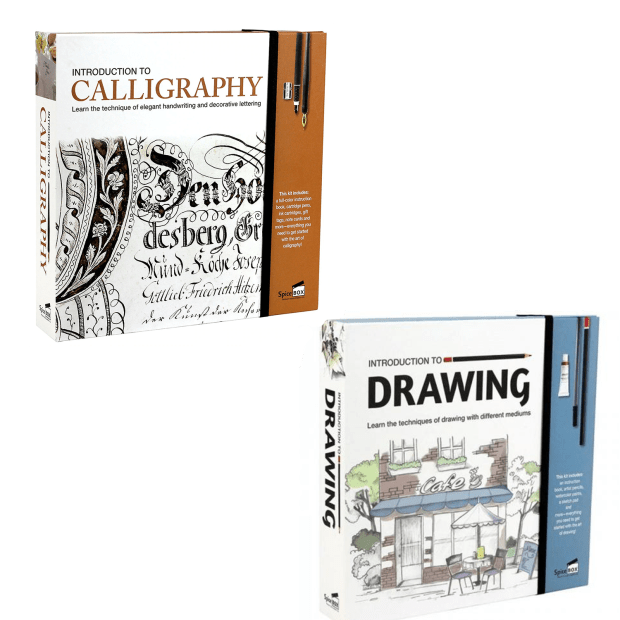 SpiceBox Introduction to Calligraphy and Drawing Bundle