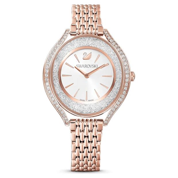 Swarovski Crystalline Aura Rose Gold Watch #1