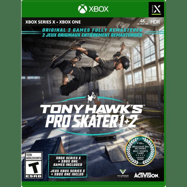 Tony Hawk's Pro Skater 1 + 2 - Xbox