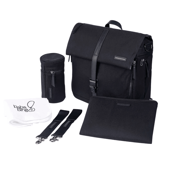 Bababing Daytripper Meta Changing Bag - Black #1