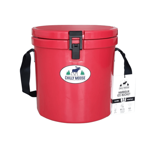 Chilly Moose 12L Harbour Bucket - Canoe Red #1