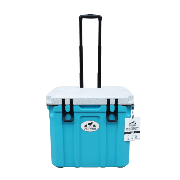 Chilly Moose 35L Chilly Ice Box Wheeled Explorer Cooler - Tobermory #1