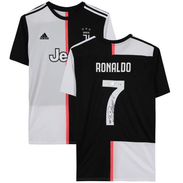Cristiano Ronaldo Authentic Signed Adidas 2019-20 Juventus Jersey #1