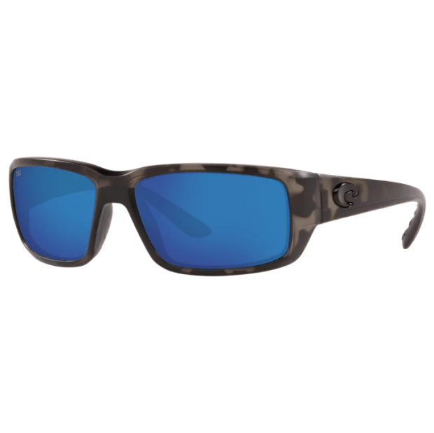 Costa® Ocearch® Fantail Men's Sunglasses - Tiger Shark Ocearch/Blue Mirror #1