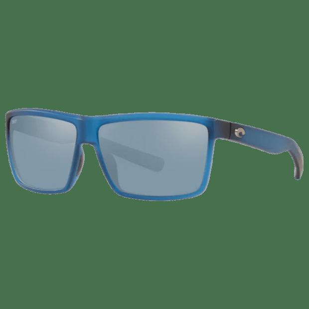 Costa® Rinconcito Mens Sunglasses - Matte Atlantic Blue/Grey Silver Mirror #1