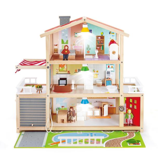 Hape Doll Family Mansion #1