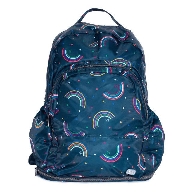 Lug® Echo Packable SE Backpack - Rainbow Navy #1