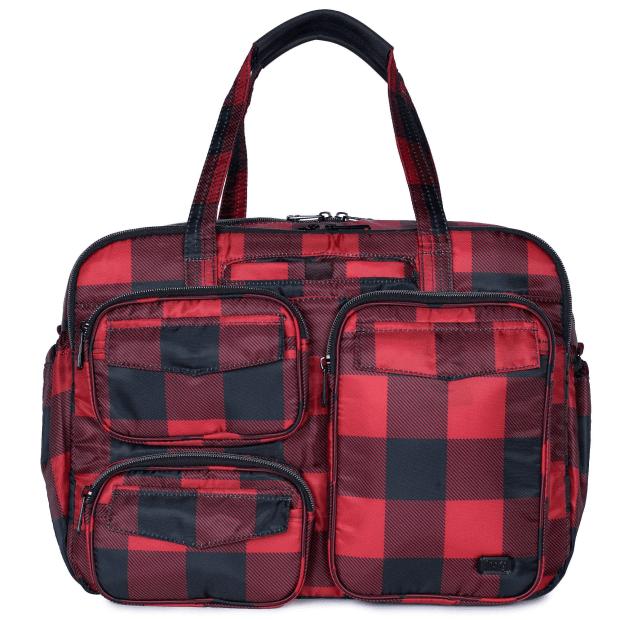 Lug® Puddle Jumper Duffel Bag - Buffalo Check Red #1