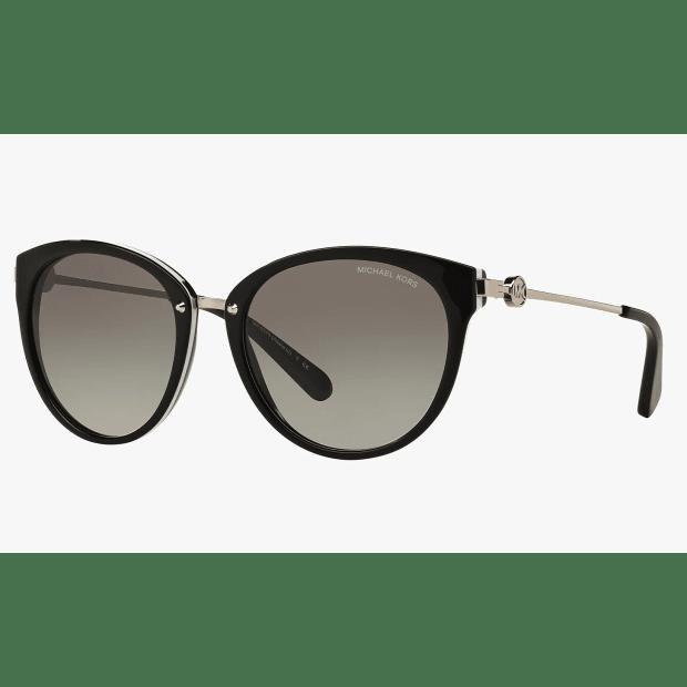 Michael Kors Ladies Abela III Sunglasses - Black/Grey #1
