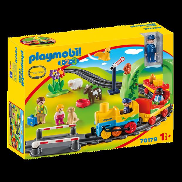 Playmobil 1.2.3 My First Train Set #1