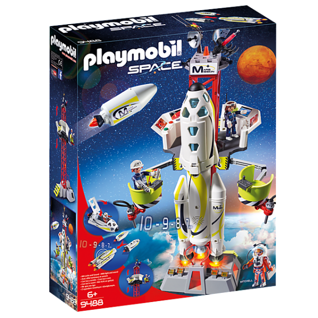 Playmobil Mission Rocket with Launch Site #1