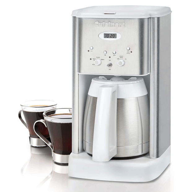 Cuisinart® Brew Central Thermal 10-Cup Programmable Coffeemaker - White #1