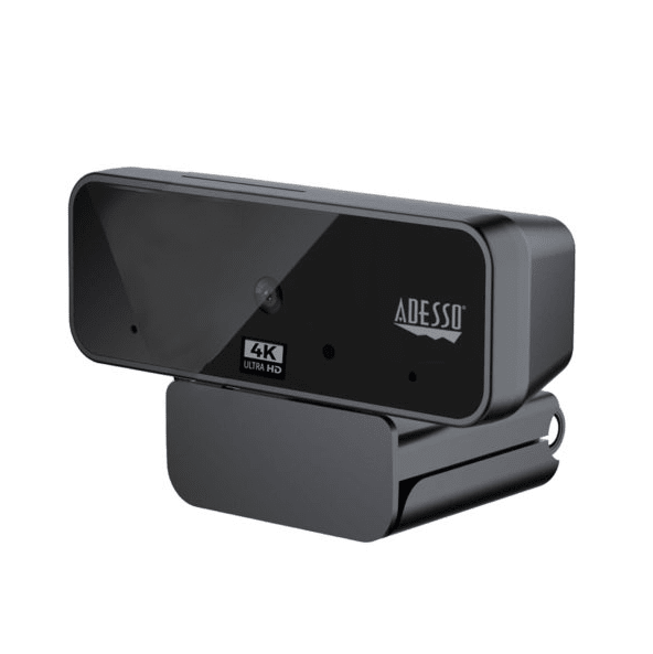Adesso® CyberTrack H6 4K Ultra HD USB Webcam #1