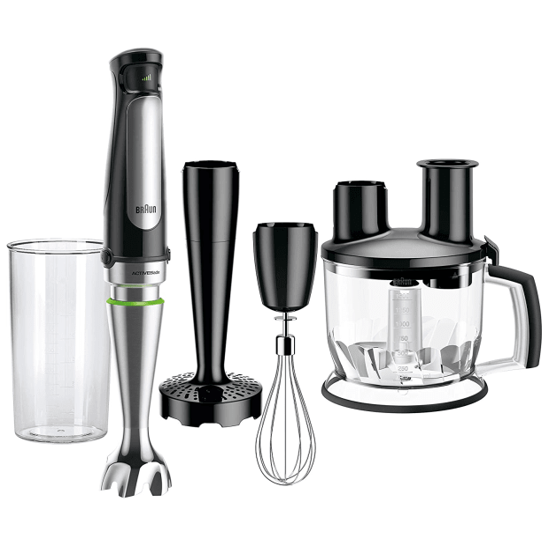 Braun MultiQuick Immersion Hand Blender (6-Cup Food Processor, Whisk, Beaker, Masher) #1