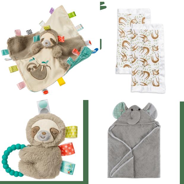 Mary Meyers, Lulujo and Zoocchini™ Baby Gift Set #1