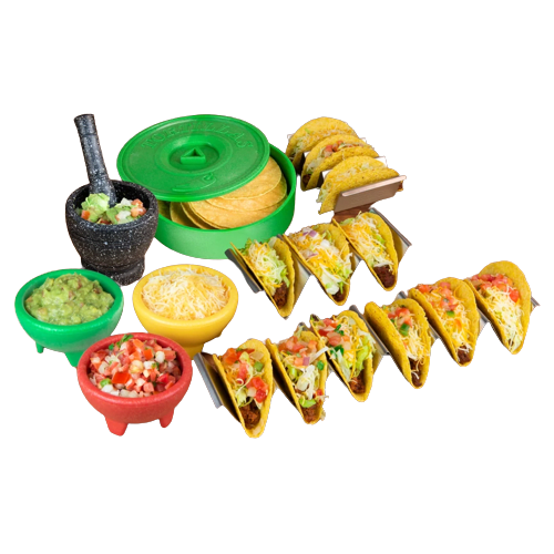 Nostalgia® Taco Tuesday 9-Piece Taco Kit #1