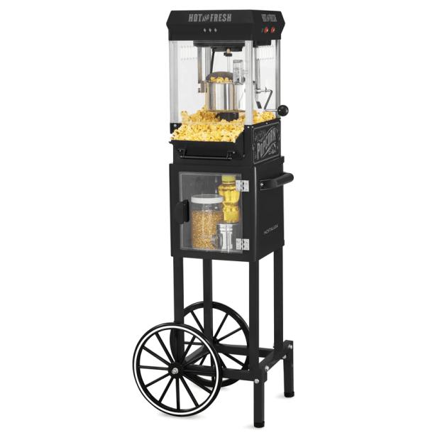 Nostalgia™ 2.5 Oz 10-Cup Popcorn Cart with 5-Quart Popcorn Bowl #1