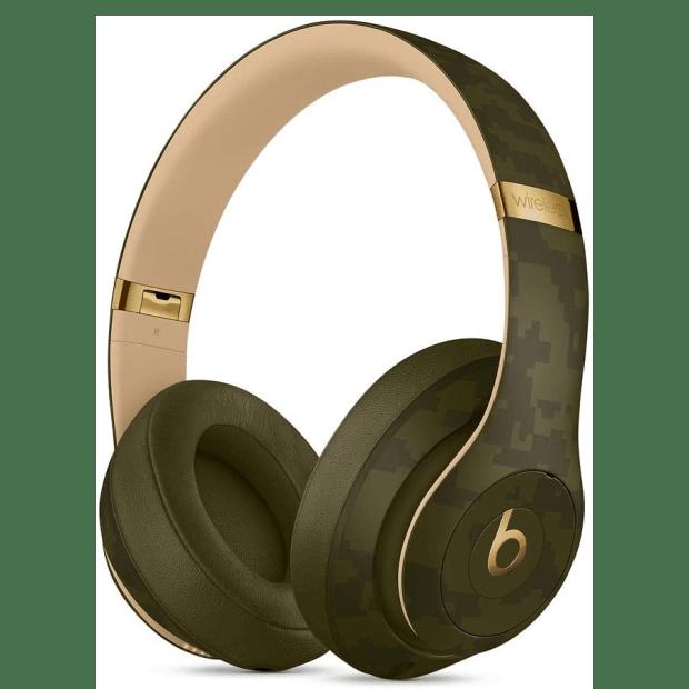 Beats Studio3 Wireless Headphones – Camo Collection – Forest Green #1