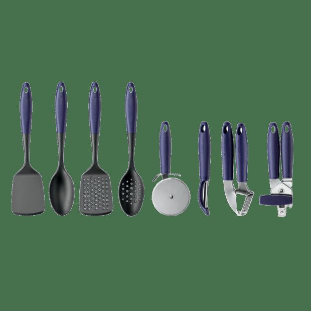 Cuisinart® Oceanware 8-Piece Kitchen Tool Set – Blue