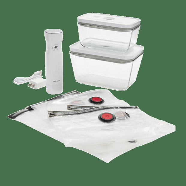 Zwilling Fresh & Save 7-Piece Glass Vacuum Starter Set #1