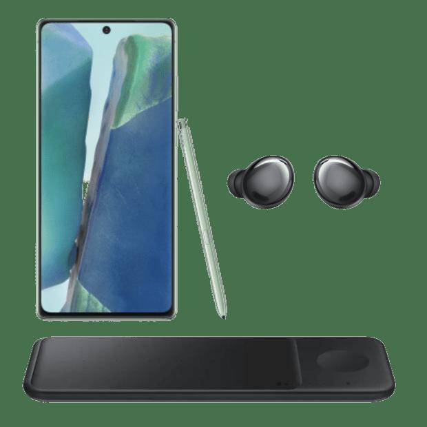Samsung Galaxy Note20 5G - 128GB - Mystic Green Bundle #1