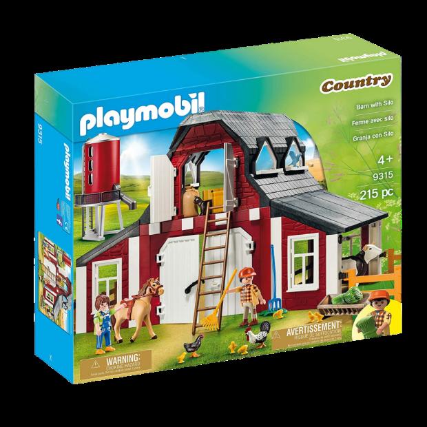 Playmobil Barn with Silo #1