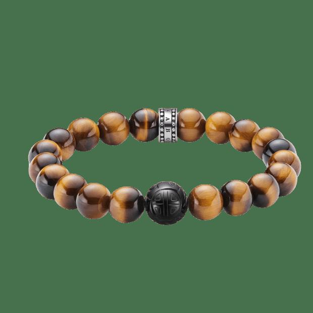 Thomas Sabo Tiger Eye Bracelet  - 19cm