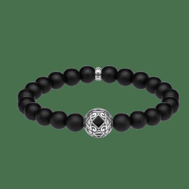 Thomas Sabo Ornament Bracelet – Black - 19.5cm #1
