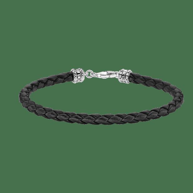 Thomas Sabo Leather Bracelet – Black - 19cm #1