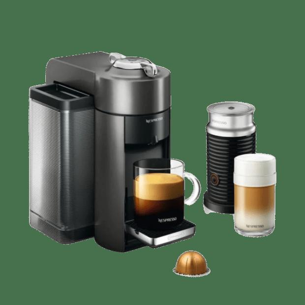 Nespresso Vertuo Coffee and Espresso Machine with Aeroccino -  Graphite Metal #1