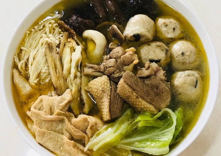 Resep Bebek Sup Jamur