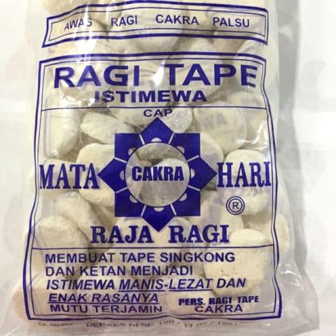 Fermentasi Menggunakan Ragi Tape