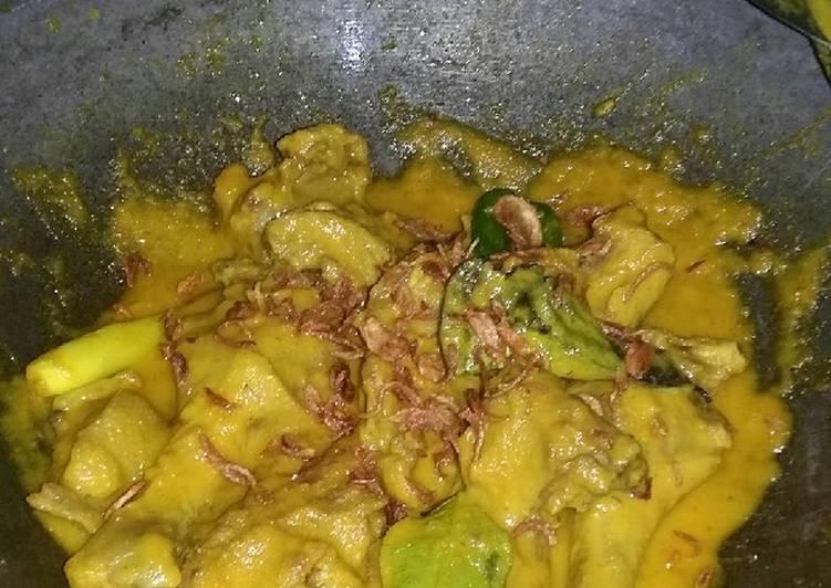Resep Bebek Goreng Bumbu Kuning