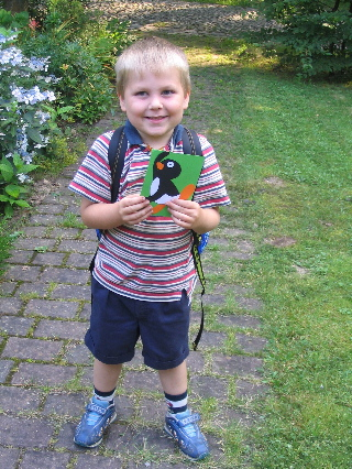1st Day Kindergarten