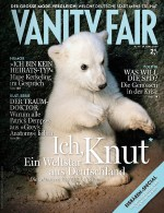 On the cover of the Vanity Fair