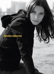 tchibo black hooded sweater