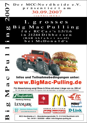 Big Mac Pulling Fyer