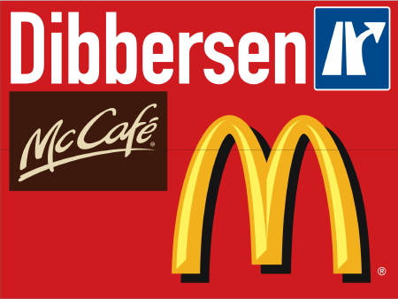 A1 Signage for Dibbersen