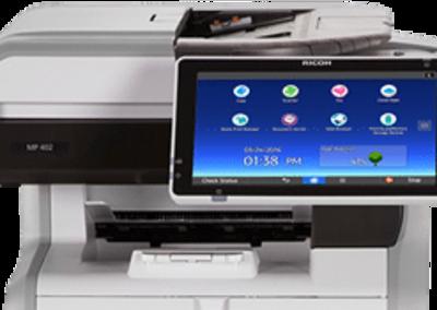 MP 402SPF Black and White Multifunction Printer