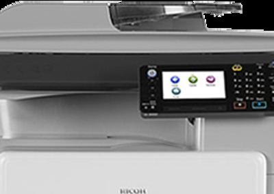 MP 301SPF Black and White Laser Multifunction Printer