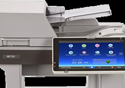 MP 501SPF Black and White Laser Multifunction Printer