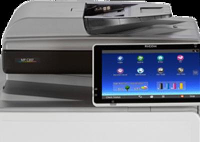 MP C307 Colour Laser Multifunction Printer