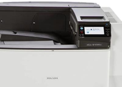 SP 8300DN Black and White Laser Printer