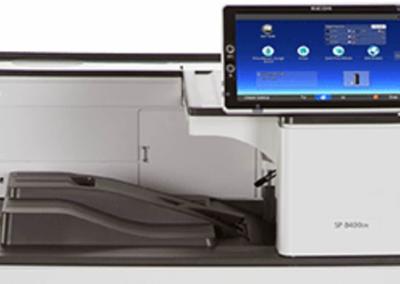 SP 8400DN Black and White Laser Printer