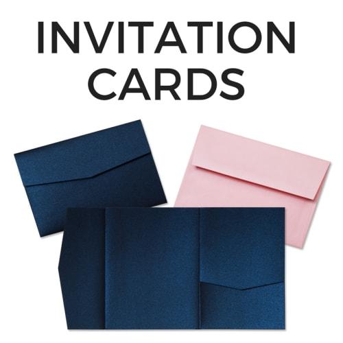 Blank DIY Invitation Cards