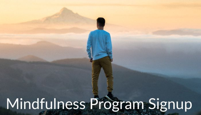 Mindfulness Program Signup